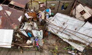 Hình ảnh đau lòng khi siêu bão Goni quét qua Philippines