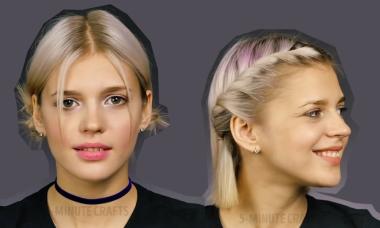 10 kiểu tết xinh cho nàng tóc ngắn