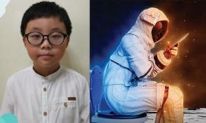Cậu bé 9 tuổi phát minh thiết bị để phi hành gia đi vệ sinh