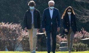 Cháu trai 14 tuổi gây chú ý khi xuất hiện bên Joe Biden