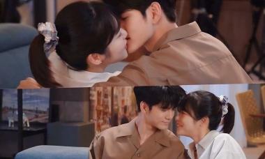 Ong Seong Woo - Shin Ye Eun hôn không ngừng trong hậu trường phim