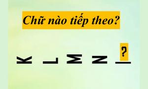 Bạn có thể hoàn thành bài test chữ cái với tốc độ tia chớp?