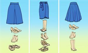 Mẹo lựa giày hợp với từng loại váy