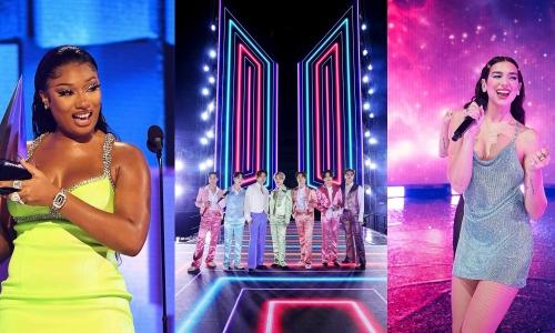 15 outfit ấn tượng nhất AMAs 2020: BTS chiếm spotlight của sao Hollywood