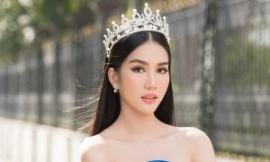 Á hậu Phương Anh 'lọt vào mắt xanh' nhà tổ chức Miss International