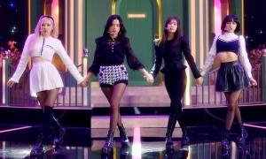 Ji Soo như 'bà cô', Jennie 'tàng hình' trên sân khấu mới của Black Pink