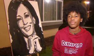 Phó Tổng thống Mỹ đắc cử gọi điện khen cậu bé 14 tuổi vẽ chân dung mình