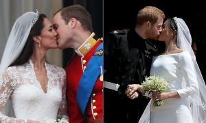 12 nụ hôn siêu lãng mạn trong đám cưới hoàng gia
