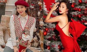 Mỹ nhân Việt mặc gì đón Giáng sinh: Người ấm áp, kẻ sexy