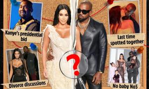 6 manh mối chứng minh Kim Kardashian quyết ly hôn Kanye West