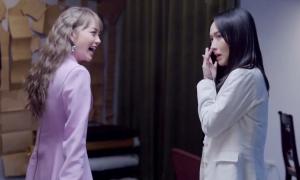 'Vựa muối' Diệu Nhi ở hậu trường phim 'Bẫy ngọt ngào'