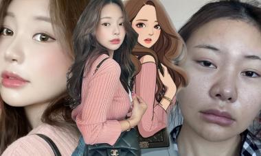 Màn lột xác đỉnh cao thành nữ chính 'True Beauty' của YouTuber Hàn