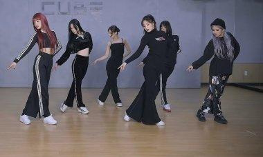 (G)I-DLE khoe đội hình 'đen toàn tập' trong video dance practice 'Hwaa'