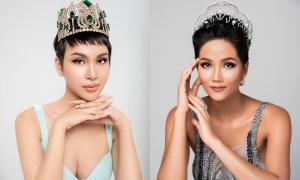 Thí sinh giống H'Hen Niê ở Hoa hậu Chuyển giới Việt Nam