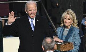 Joe Biden tuyên thệ, chính thức là Tổng thống thứ 46 của Mỹ