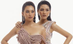 Tiểu Vy - Đỗ Hà đọ sắc với đầm xuyên thấu của Nguyễn Minh Tuấn