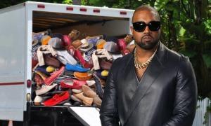 Kanye West dọn 500 đôi giày ra khỏi nhà giữa tin đồn ly hôn Kim