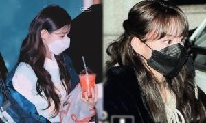 Sakura (IZONE), Mi Yeon (G)I-DLE đọ góc nghiêng đỉnh cao khi đeo khẩu trang