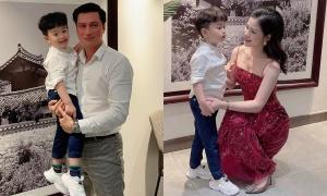 Việt Anh gặp lại vợ cũ vì con trai