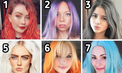 Màu tóc nhuộm yêu thích bật mí tính cách bạn gái