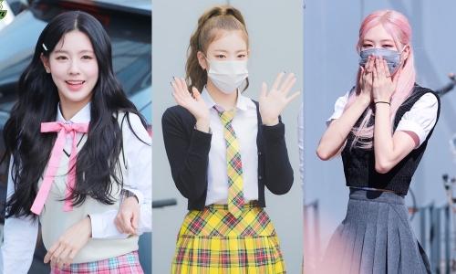 Trang phục đi làm của ITZY, (G)I-DLE nhăn nhúm, còn Black Pink lại cực sang