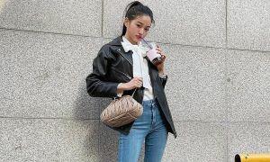 'Chân dài gấp đôi người' giúp Jang Won Young chinh phục nhiều kiểu quần jeans