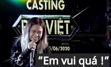 Clip Tlinh đi casting Rap Việt giờ mới hé lộ