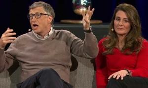 Ngôn ngữ cơ thể cho thấy Melinda Gates rạn nứt với chồng từ lâu