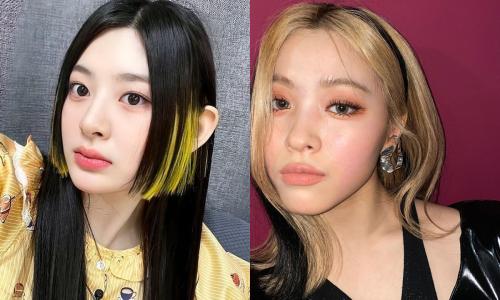 2 kiểu tóc nhuộm hay ho nhất hè được mỹ nhân Kpop thế hệ mới lăng xê