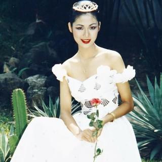 Những bức ảnh hiếm khoe sắc rực rỡ của Thu Thủy khi thi hoa hậu