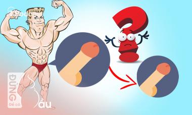 Tập gym có làm yếu sinh lý, giảm kích cỡ 'cậu nhỏ' không?