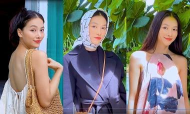 Thử thách sao Việt: Phương Khánh mix đồ đi du lịch khắp Việt Nam khi hết dịch