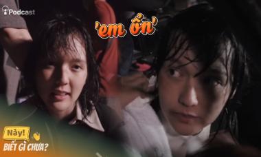 Anti-fan 'động lòng' sau khi xem lại clip Hải Tú dầm mưa
