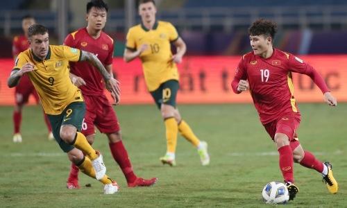 Việt Nam thua Australia trên sân nhà