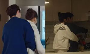Đoán phim Hàn qua bóng lưng của cặp đôi