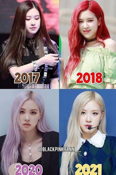 Nhan sắc của ai trong Black Pink thay đổi nhất từ khi debut?