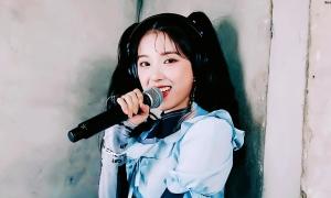 Thành viên 16 tuổi của nhóm nữ JYP khoe giọng trong video mới
